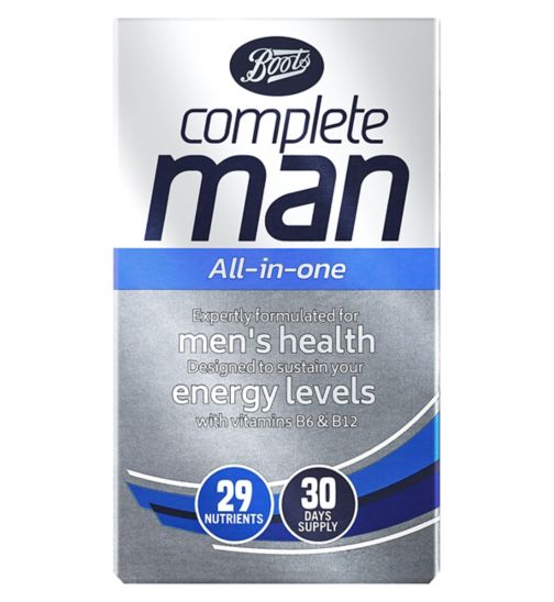 Boots Complete Man Multivitamins - 30 tablets