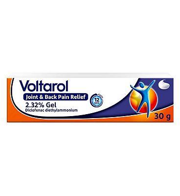 Voltarol Joint Pain Relief Gel 12 Hour 2.32% 30g