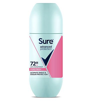 Sure Advanced Protection Pure Fresh Anti-perspirant Deodorant Roll On 100ml