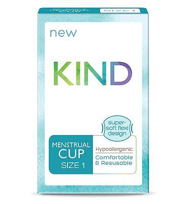 Kind Reusable Menstrual Cup Size 1