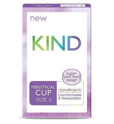 Kind Reusable Menstrual Cup Size 2
