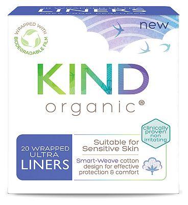 Kind Organic Ultra Liners 20s