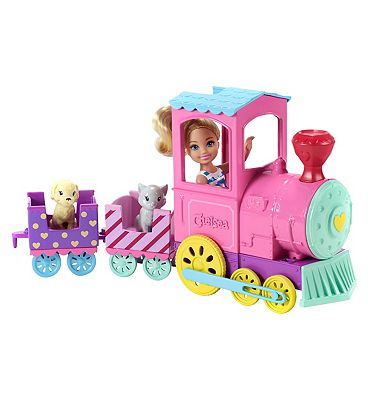 Barbie Club Chelsea Doll And Choo Choo Train