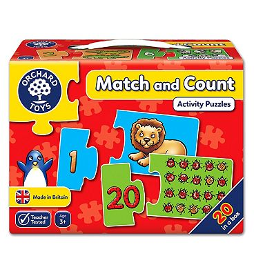 Orchard Toys Match And Count Jigsaw Puzzle
