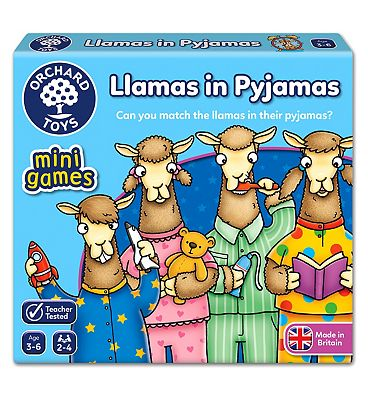 Orchard Toys Llamas In Pyjamas Board Game