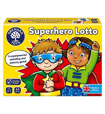 Orchard Toys Superhero Lotto Board Game