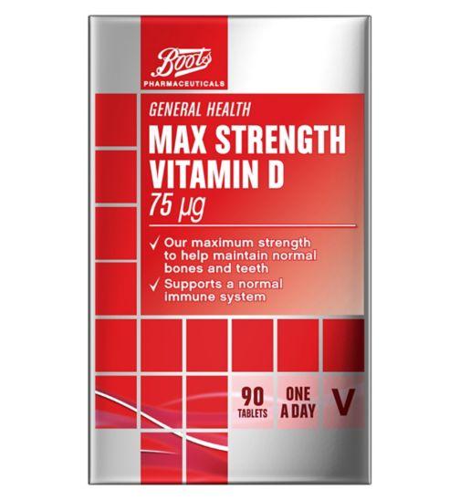 Vitamin D Tablets | Vitamins & Supplements - Boots