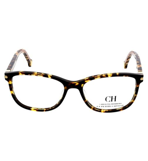 7ec937c4d411 Carolina Herrera VHE774L Womens Glasses - Tortoise Shell