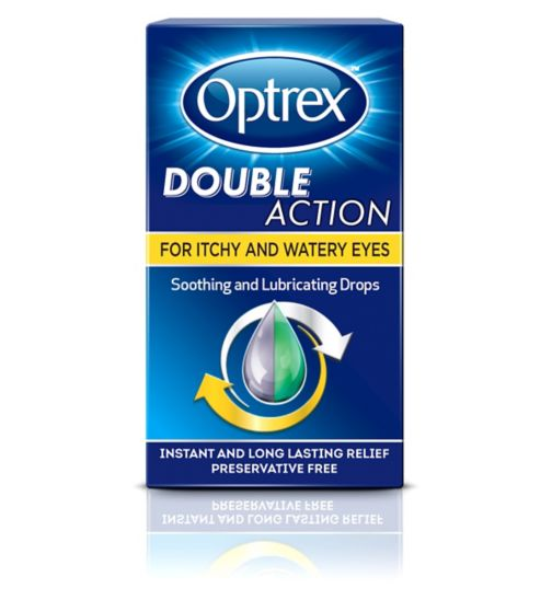 Optrex Double Action Drops for Itchy & Watery Eyes - 10ml