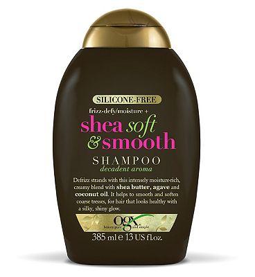 OGX Frizz-Defy/Moisture Shea Soft & Smooth Shampoo