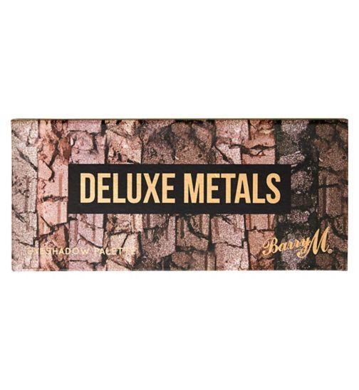 Barry M Deluxe Metals Eyeshadow Palette