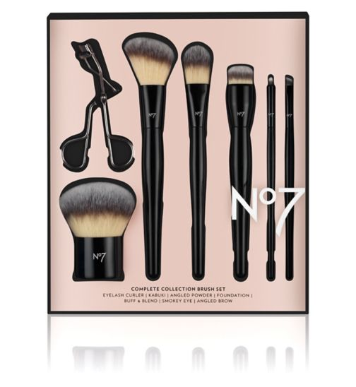 No7 Complete Collection Brush Set