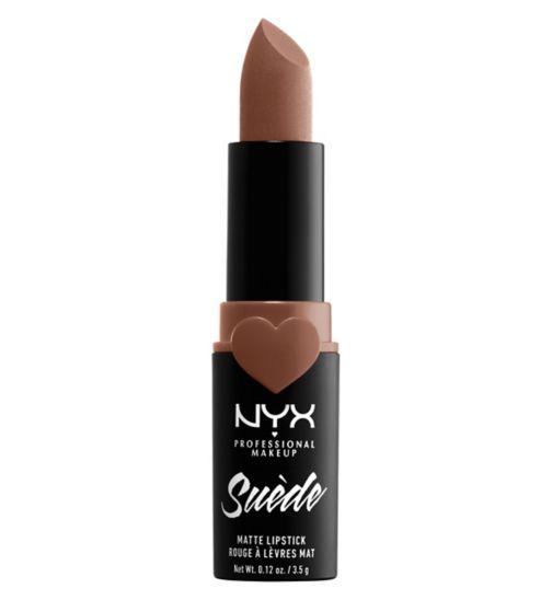 NYX Professional Makeup Suede Matte Lipstick