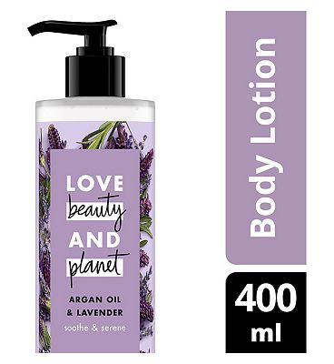 Love Beauty And Planet Soothe & Serene Body Lotion 400ml