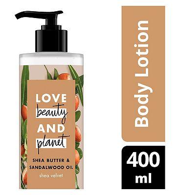 Love Beauty And Planet Shea Velvet Body Lotion 400ml