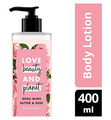Love Beauty And Planet Delicious Glow Body Lotion 400ml