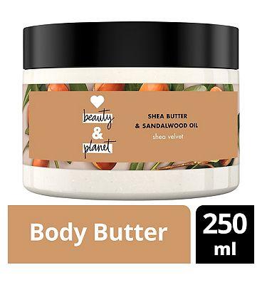 Love Beauty And Planet Shea Velvet Body Butter 250ml