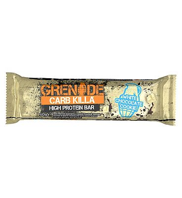 Grenade Carb Killa High Protein Bar White Choc Cookie - 60g