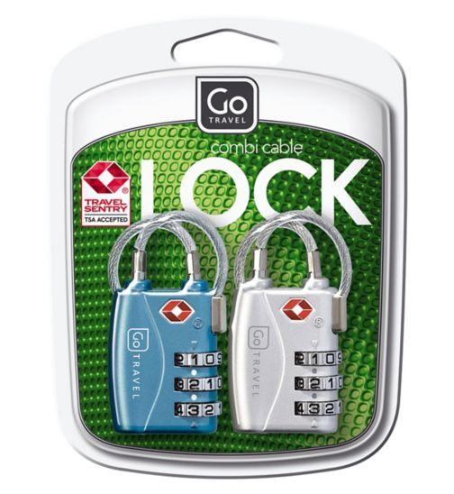 c2205a07f71ba Go Travel TSA combination lock 2s