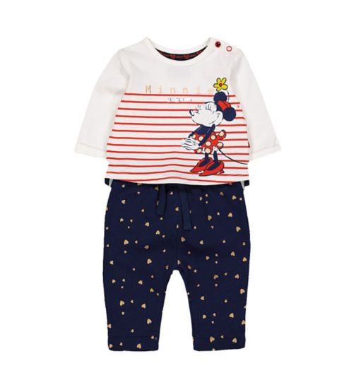 2a573f08e1b Mini Club Minnie Mouse Disney Top and Jogger Set