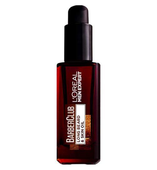 L'Oreal Men Expert Barber Club Long Beard & Skin Oil Movember Limited Edition 30ml