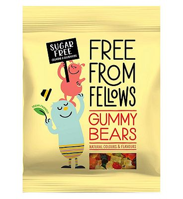 Free From Fellows Gummy Bears - 70g