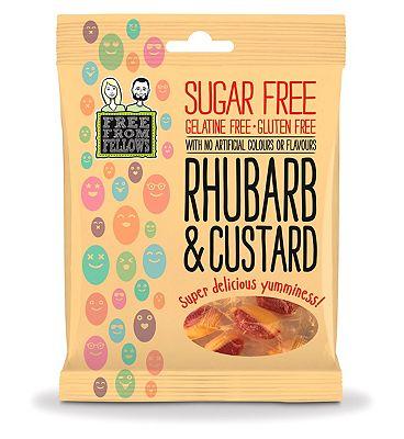 Free From Fellows Rhubarb & Custard - 70g