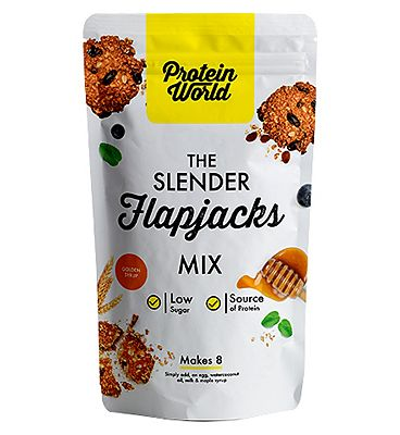 Protein World The Slender Flapjacks Mix - Golden Syrup 200g