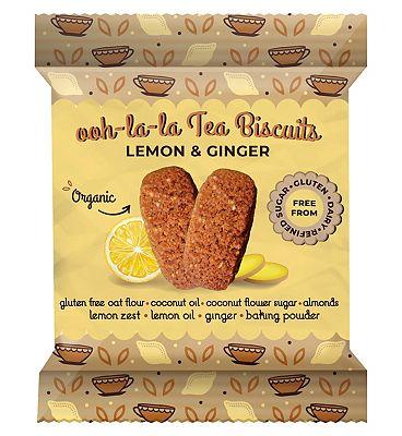 Rhythm 108 Ooh-la-la Biscuits Lemon and Ginger - 24g
