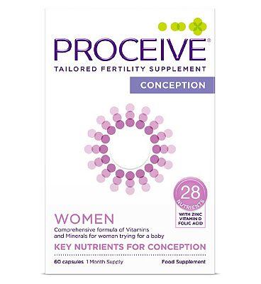 Proceive Advanced Fertility Supplement Women - 60 Capsules