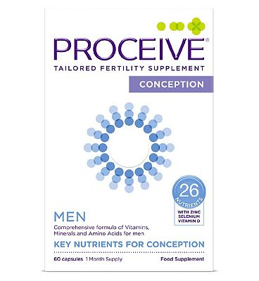 Proceive Advanced Fertility Supplement Men - 60 Capsules