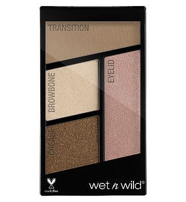 wet n wild Color Icon Eyeshadow Quads Hooked On Vinyl