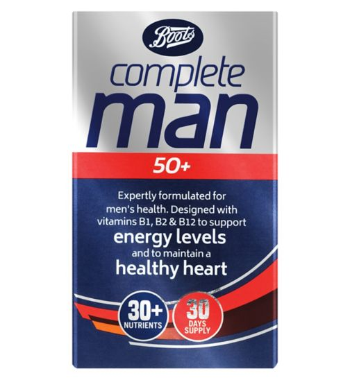 Boots Complete Man 50+ Multivitamins - 30 tablets