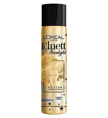 l'oreal elnett starlight glitter hairspray limited edition 75ml