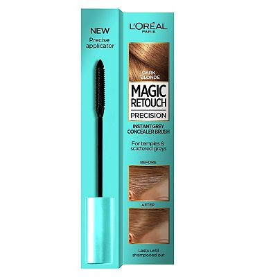 l'oreal magic retouch dark blonde precision instant grey concealer brush