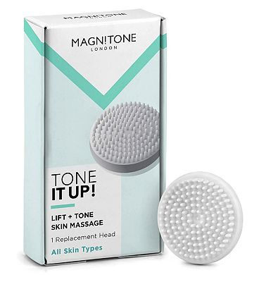 BareFaced 2 Tone It Up! Massaging Brush Head- 1 Pack