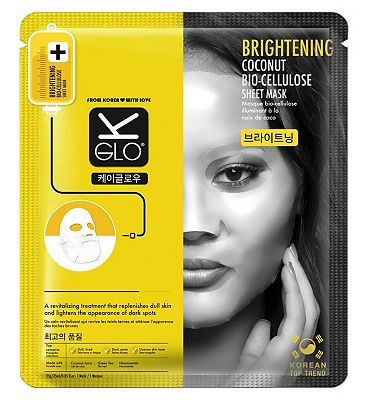 K-Glo Brightening Coconut Bio-Cell mask