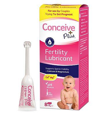 Conceive Plus Fertility Lubricant - 8x4g
