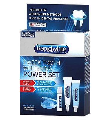 Rapid White 1 Week Power Teeth Whitening Set