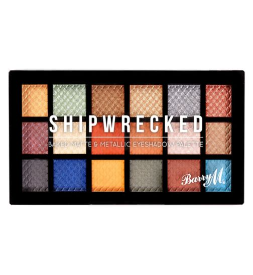 Barry M Baked Eyeshadow Palette Shipwrecked