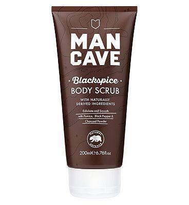 ManCave Blackspice Body Scrub 200ml