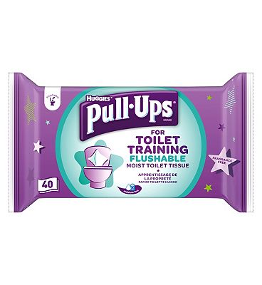 Pull-Ups Wipes, single pack = 40 wipes