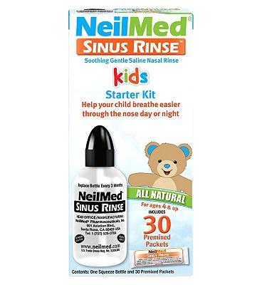 Neilmed Sinus Rinse Kids Starter Kit - 30 Premixed Packets