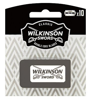 Wilkinson Sword Classic Double Edge Safety Razor Blades x10