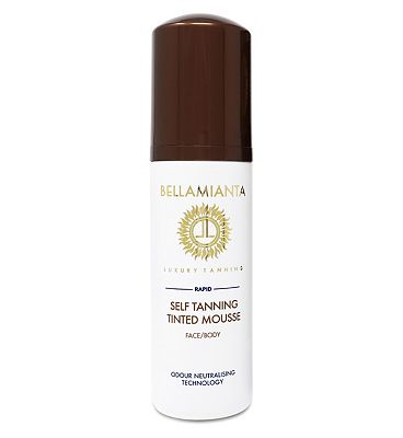 Bellamianta Dark Rapid Self Tanning Mousse 150ml