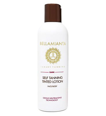 Bellamianta Self Tanning Tinted Lotion Dark 200ml