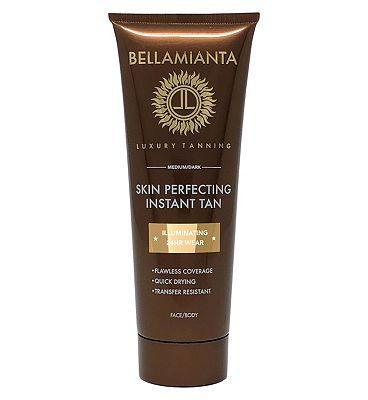 Bellamianta Skin Perfecting Instant Tan Medium Dark 125ml
