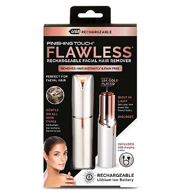 JML Finishing Touch Flawless Rechargeable - White Edition