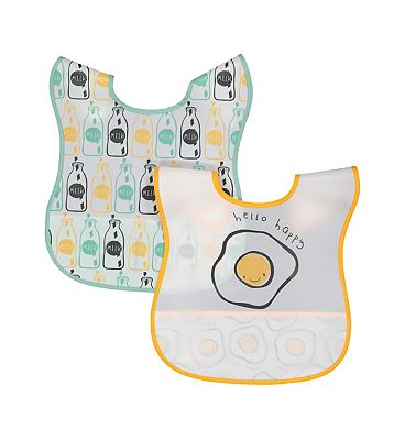 Mini Club 2 Pack Peva Bibs