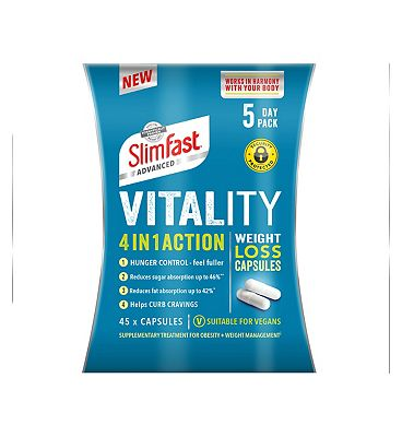 Slimfast Advanced 4 in 1 Action Weight Loss Capsules 5 Day Pack